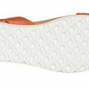 UGG Shoes - UGG Laddie Ankle Strap Sandal Orange NEW IN BOX